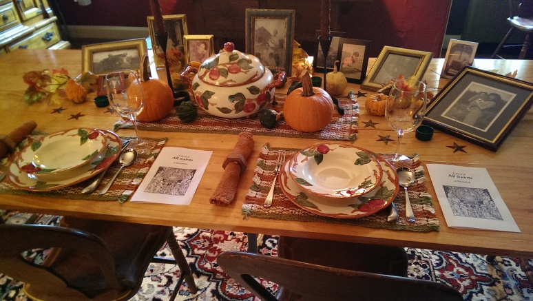 Pictures of Departed Loved Ones Grace Our Ancestors Table