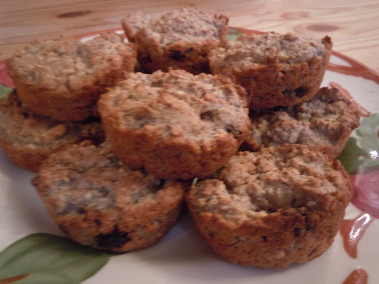 oatmeal raisin nut biscuits