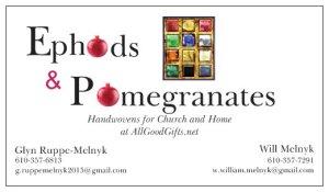 Ephods Card