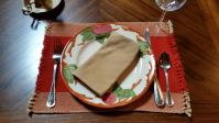 Montaegle Sunset Place Setting