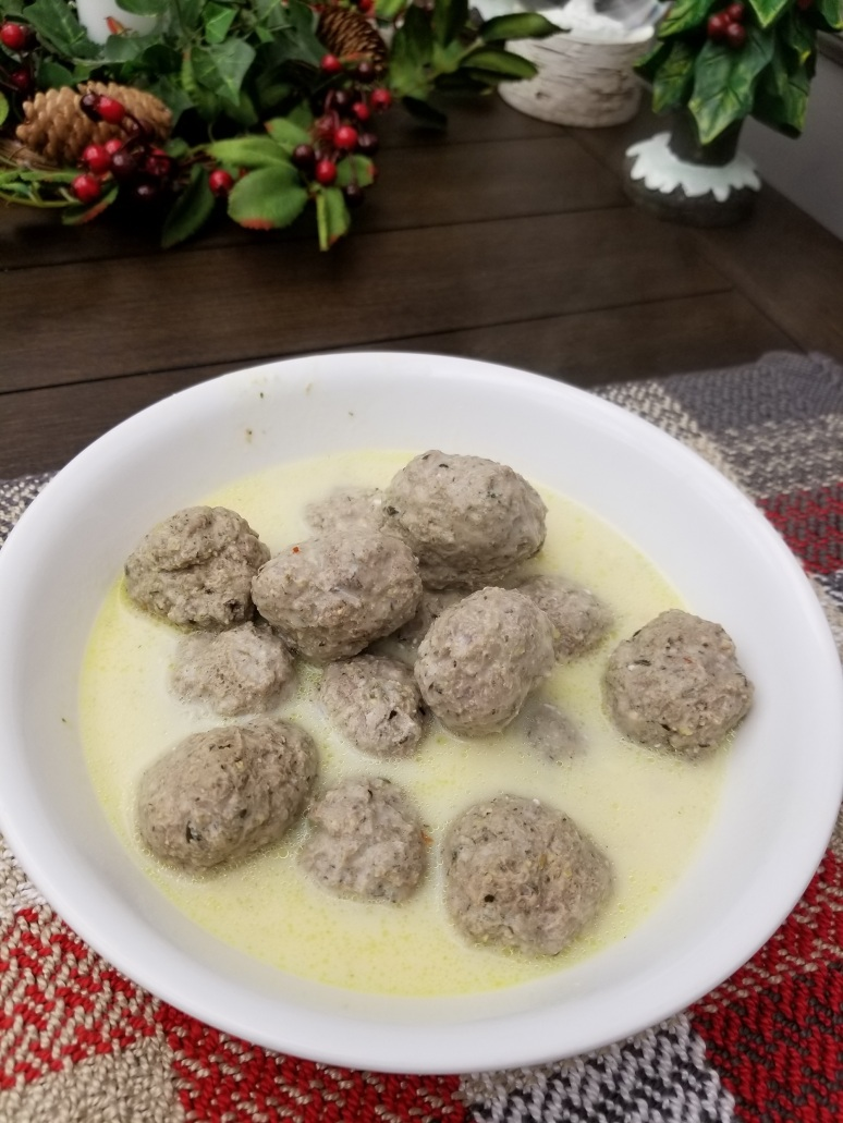 Lamb Meatballs Lemon Sauce1