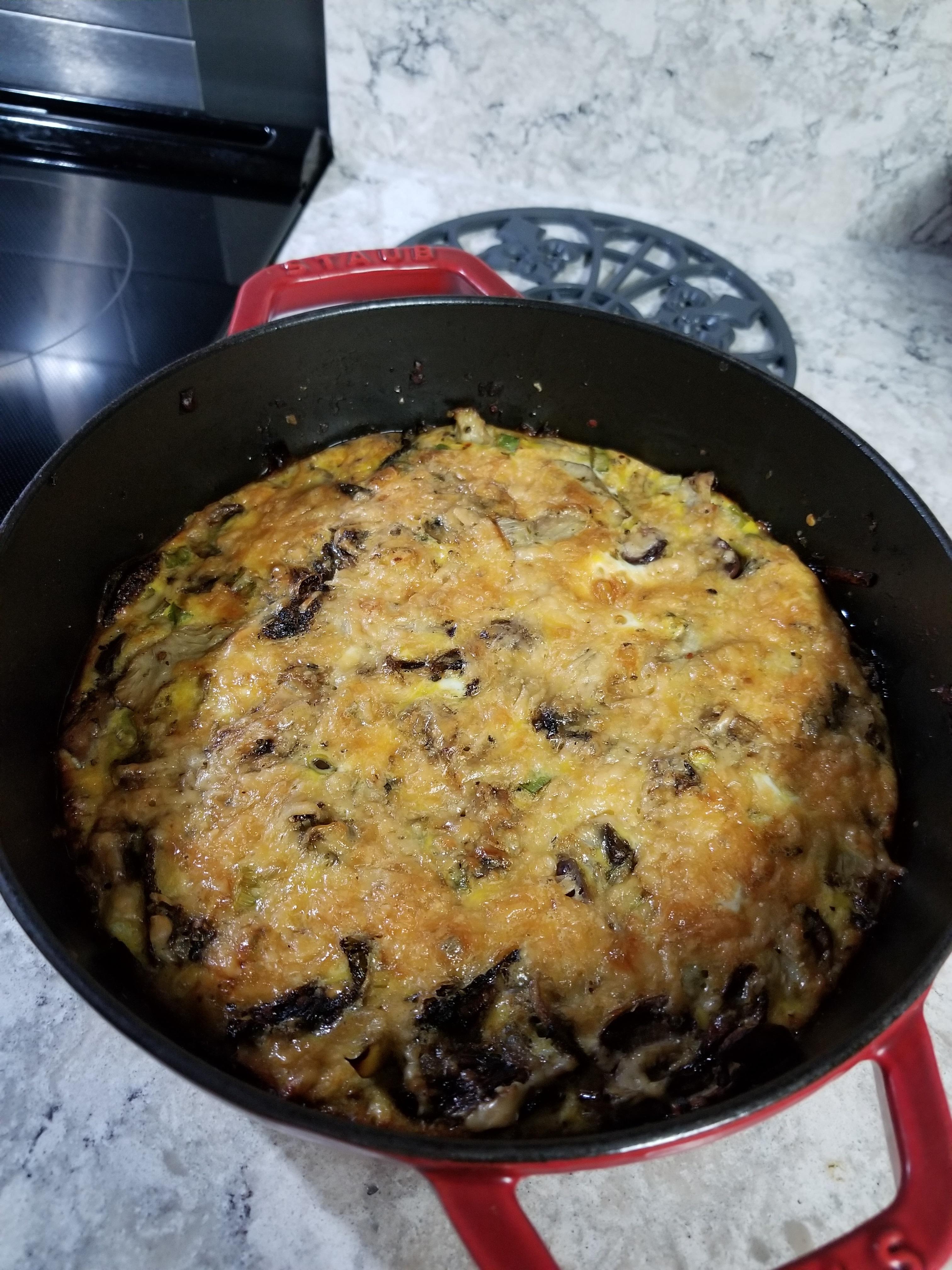 Artichoke Mushroom Fritatta4