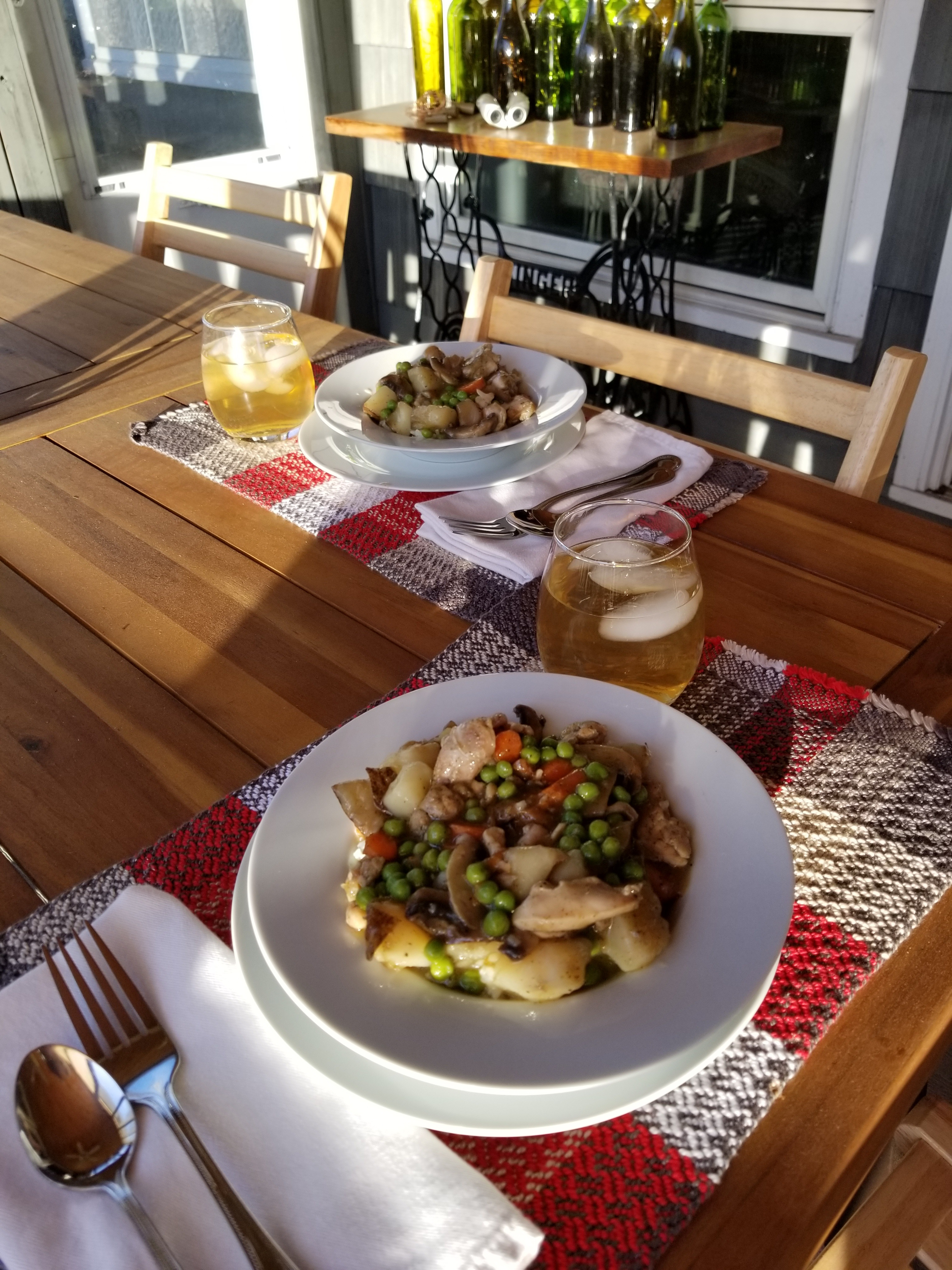creamed chicken and vegetables4