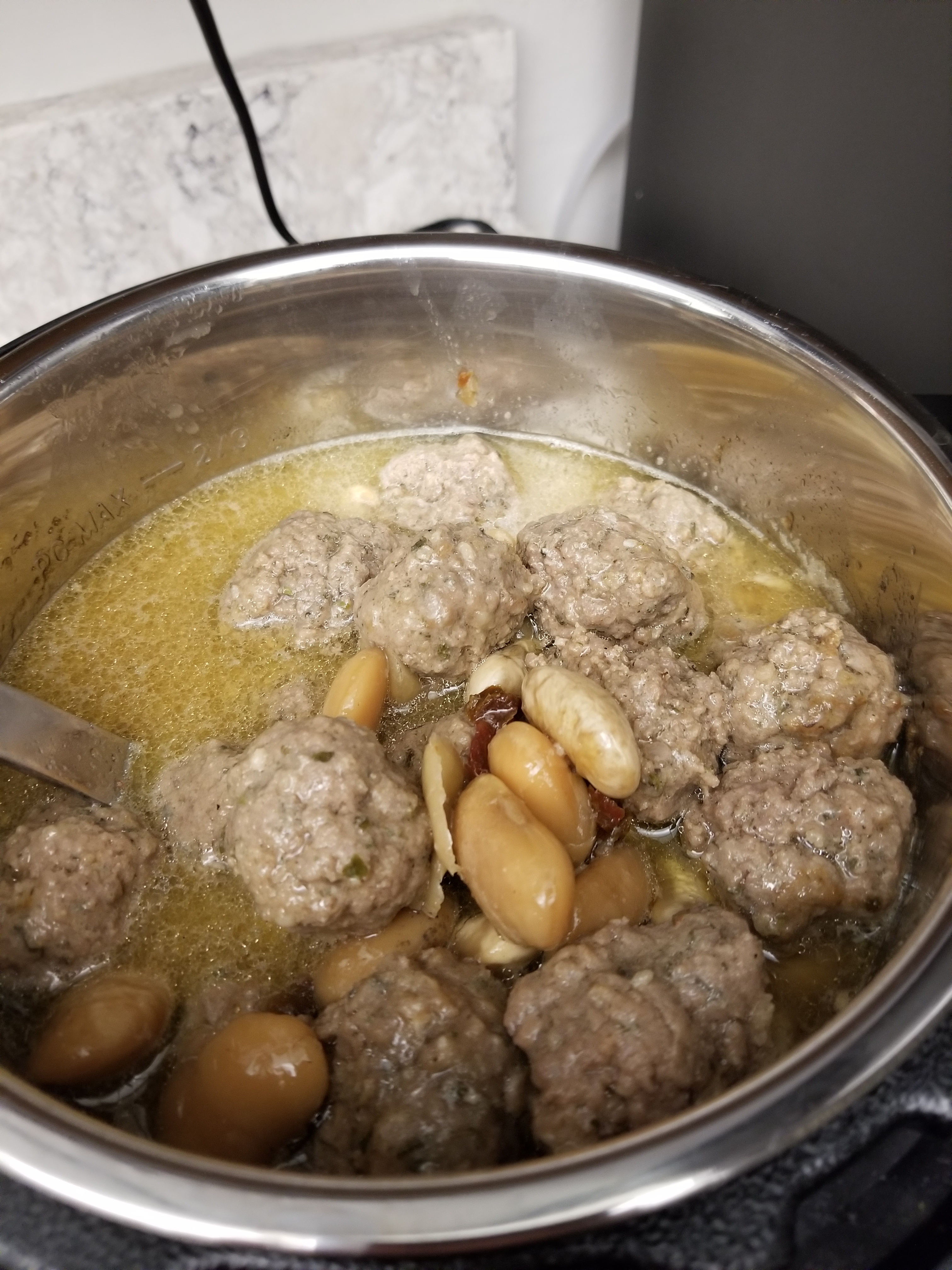 Dried Bean and Meatball Stew3