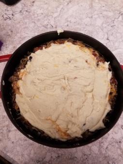 Tamale black bean casserole8