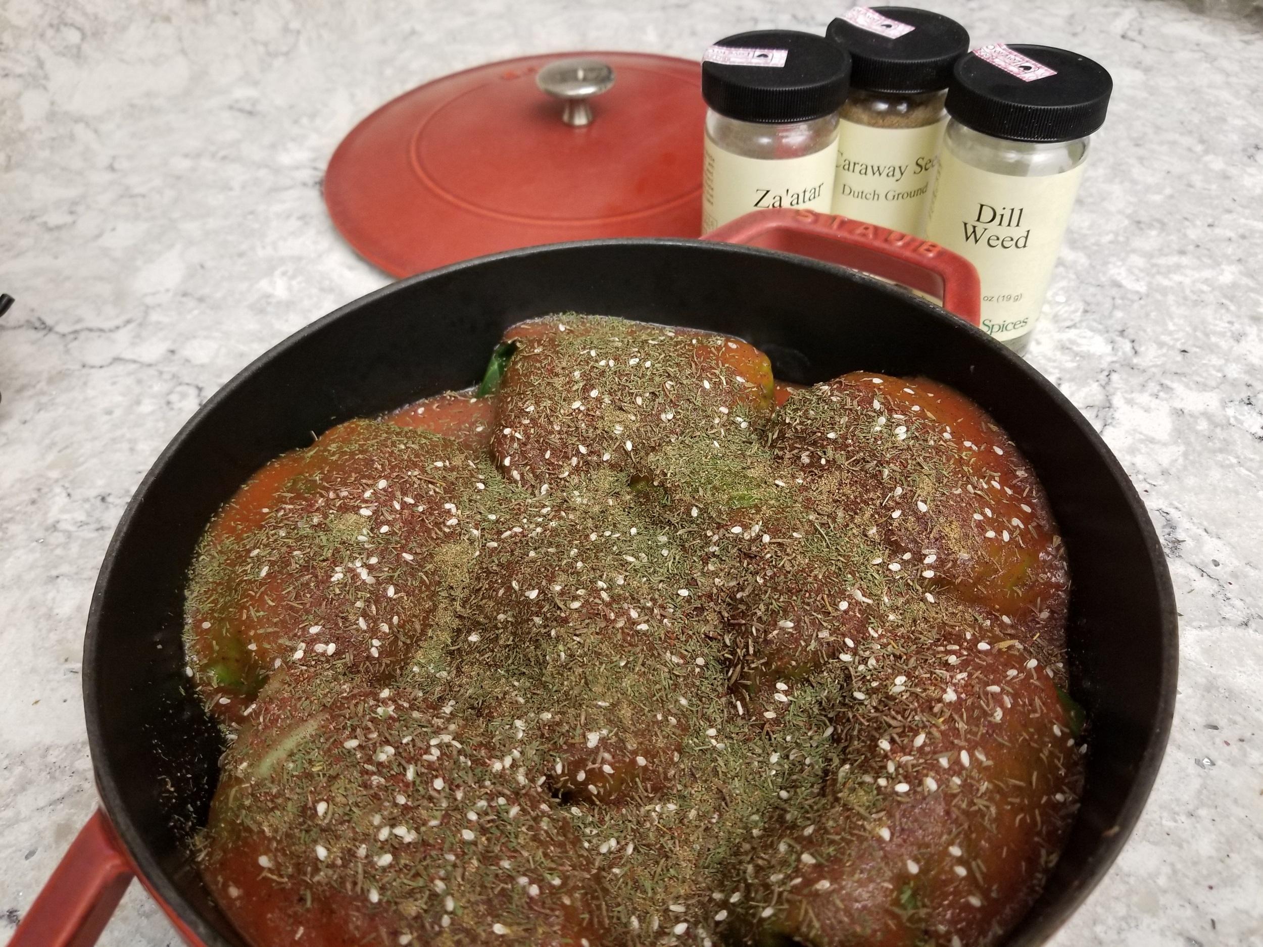 ZaAtar Beef Stuffed Cabbage2