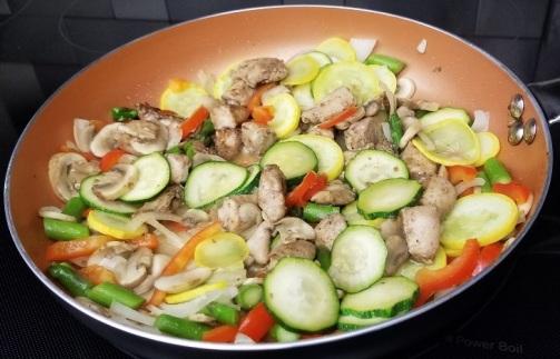 stir fried chicken with vegetables10