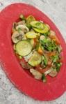 stir fried chicken withvegetables11