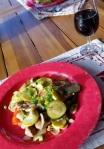 stir fried chicken withvegetables13