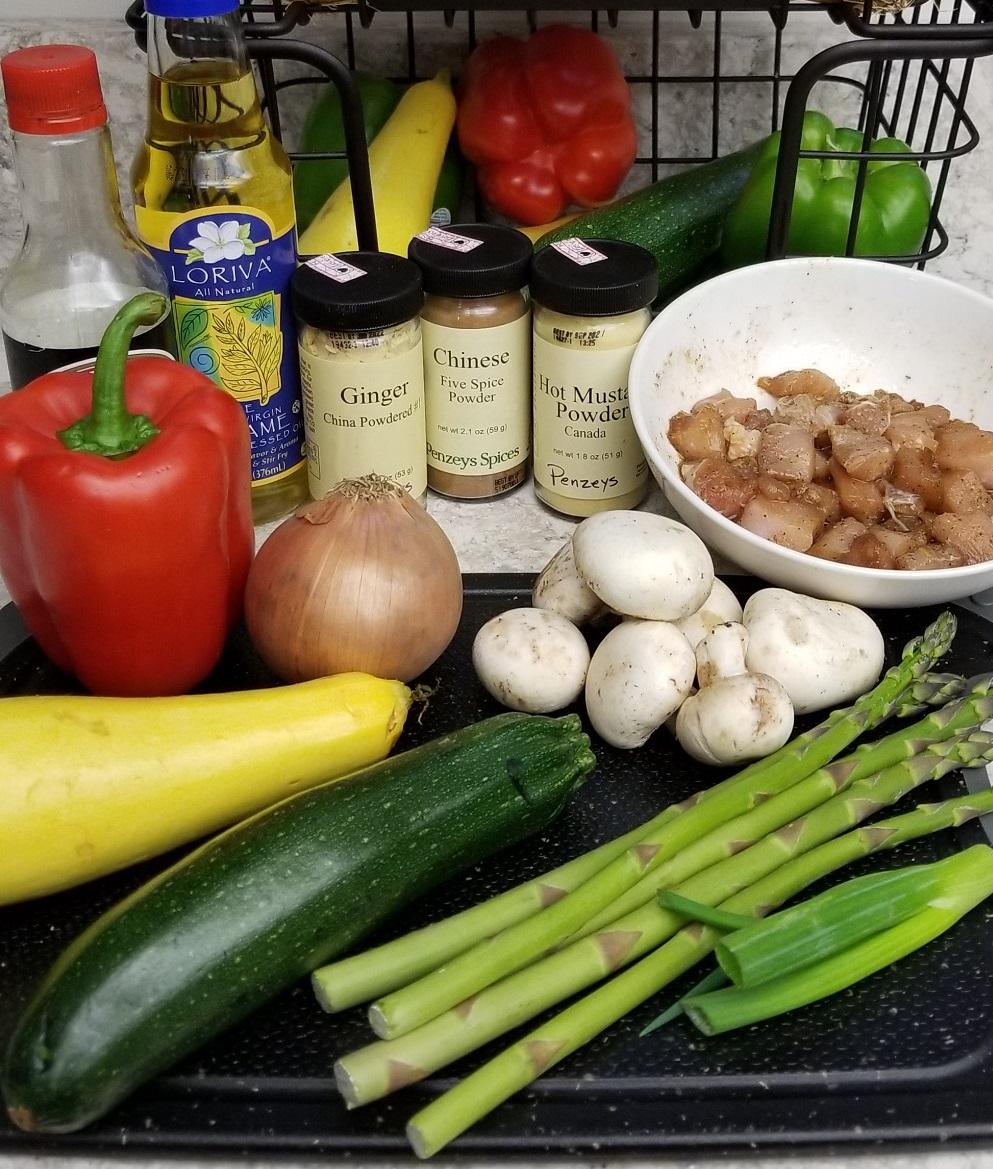 stir fried chicken with vegetables8