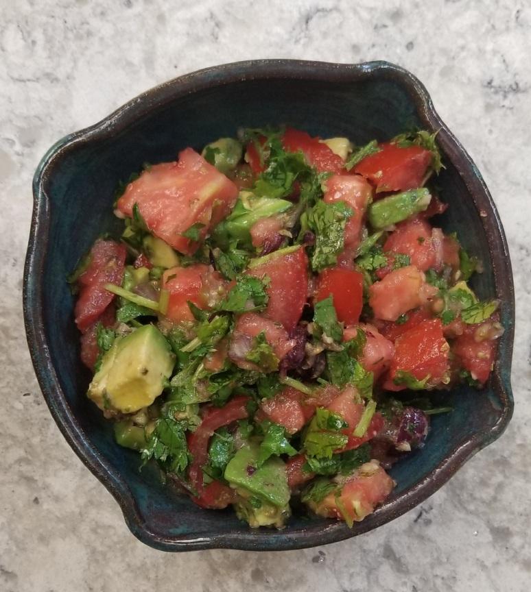 avocado salsa cumin cilantro roast chicken4